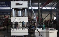 四柱液压机在不同运行阶段的故障特征