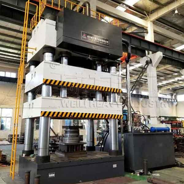 3000吨四柱拉伸压力机(YW28-3000T)四柱拉伸油压机
