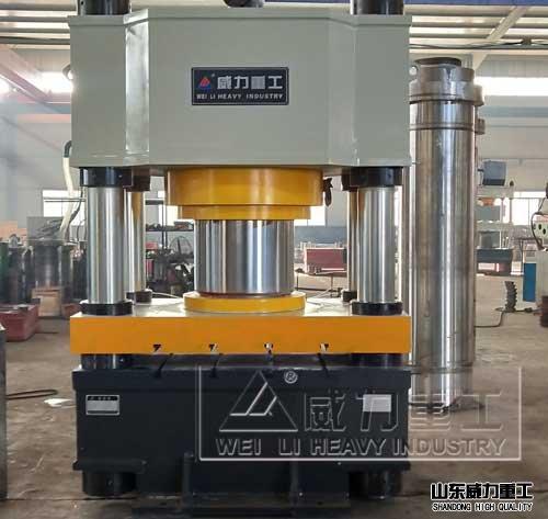 800吨三梁四柱压力机(YW31-800T)三梁四柱液压机