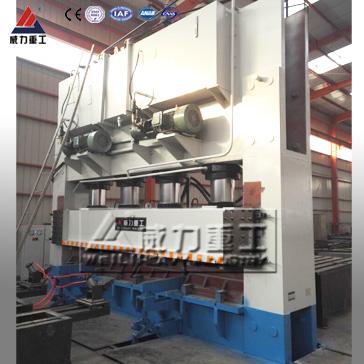 自动金属粉末成型框架式四柱液压机