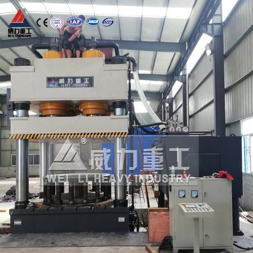 1600吨三梁四柱液压机(YW32-1600T)三梁四柱油压机