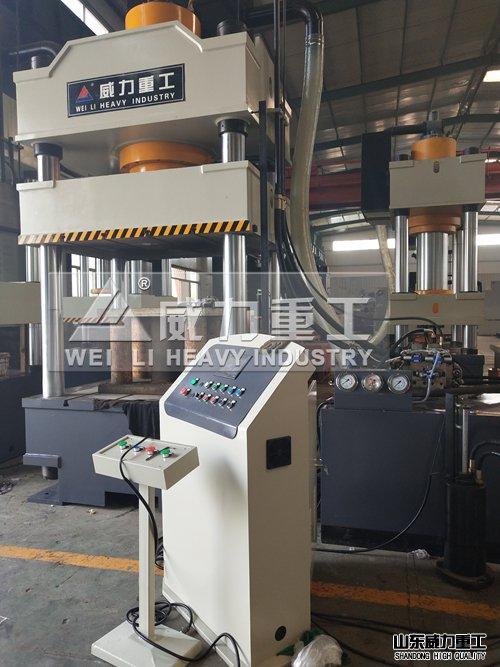 1200吨三梁四柱压力机(YW32-1200T)四柱液压机